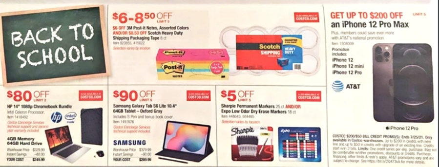 Costco JULY 2021 Coupon Book P9