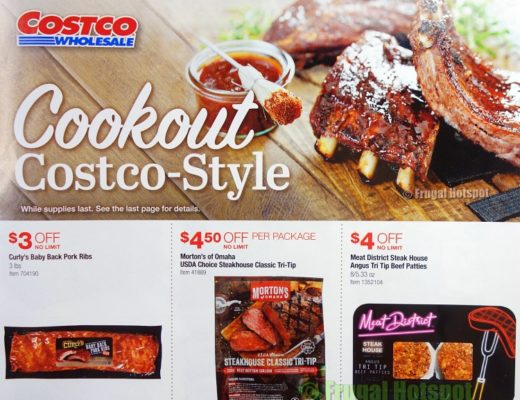 Costco Style Cookout Coupon Book JUNE 2021 JULY 2021 P1a