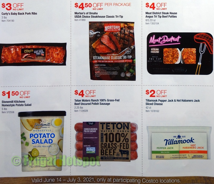 Costco Style Cookout Coupon Book JUNE 2021 JULY 2021 | P1b