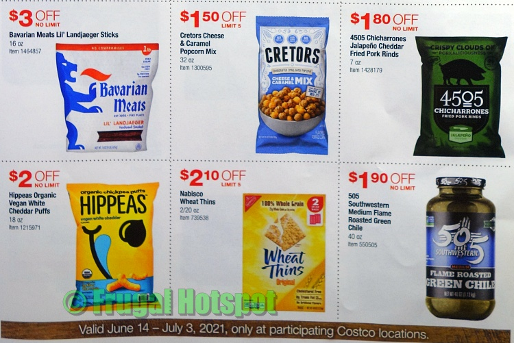 Costco Style Cookout Coupon Book JUNE 2021 JULY 2021 | P2b
