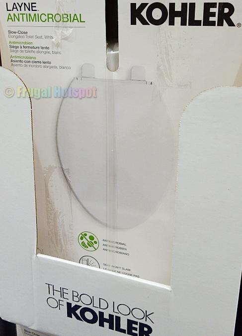 Kohler Layne Antimicrobial Toilet Seat   Costco
