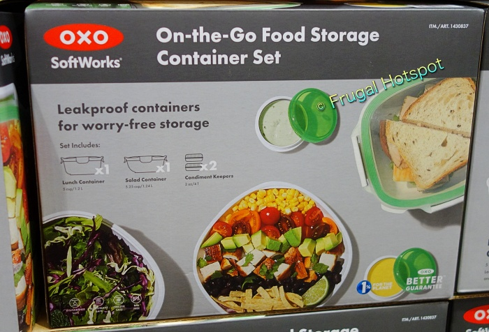 OXO SoftWorks On-the-Go Food Storage Container Set   Costco