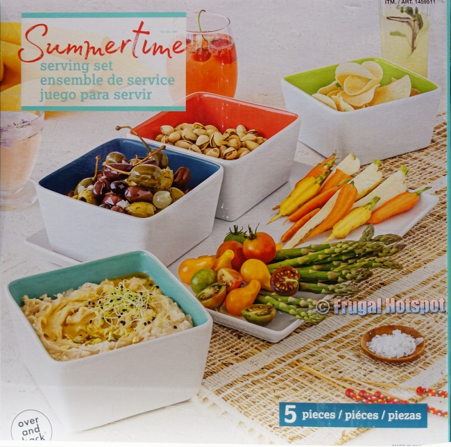 Over and Back Summertime Serving Set | Costco