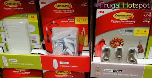 3M Command Hanging Hooks or Strips   Costco