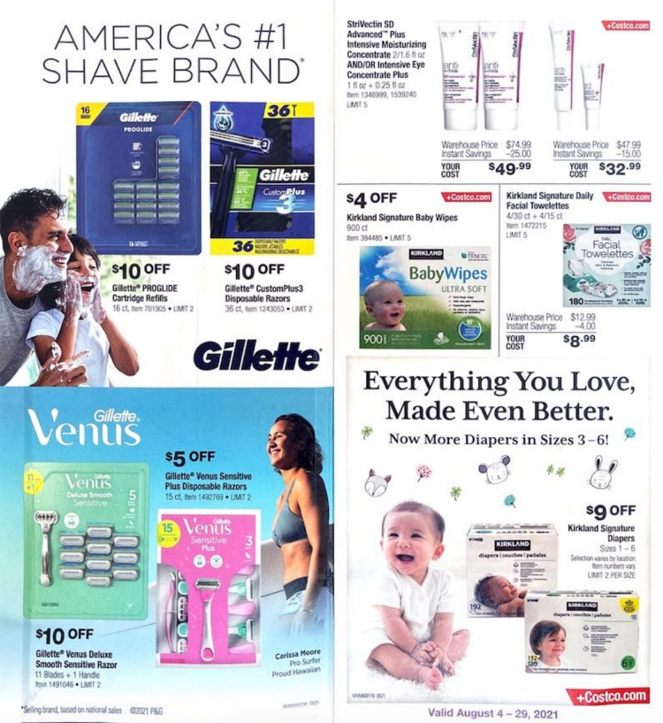 Costco Coupon Book AUGUST 2021   Page 1