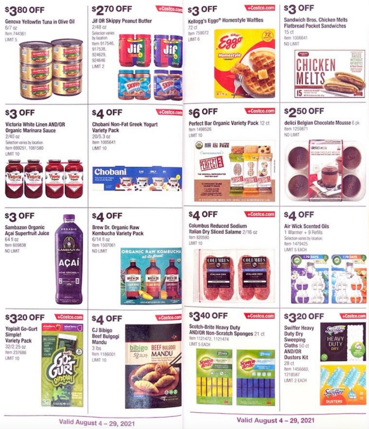 Costco Coupon Book AUGUST 2021   Page 9