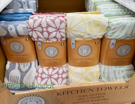 Honeycomb Kitchen Towels 8-Pack by Town and Country Living | Costco