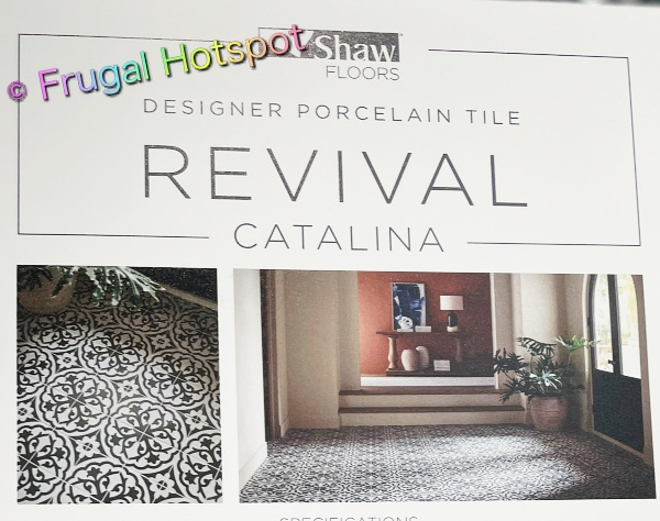 Revival Catalina Designer Porcelain Tile by Shaw Floors at Costco