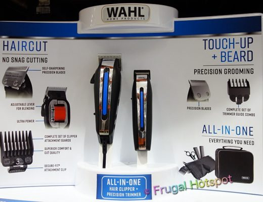 Wahl Deluxe Hair Cutting Kit with Hair Clipper and Beard Trimmer | Costco Display