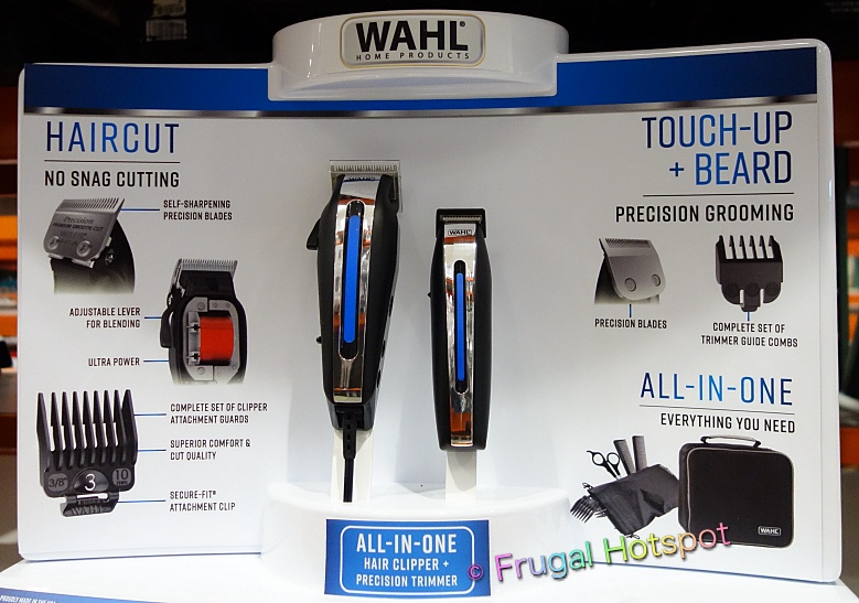 Wahl Deluxe Hair Cutting Kit with Hair Clipper and Beard Trimmer   Costco Display