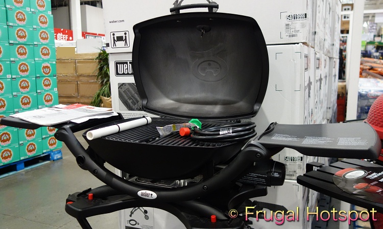 Weber Q2200 Outdoor Gas Grill   Costco Display 2