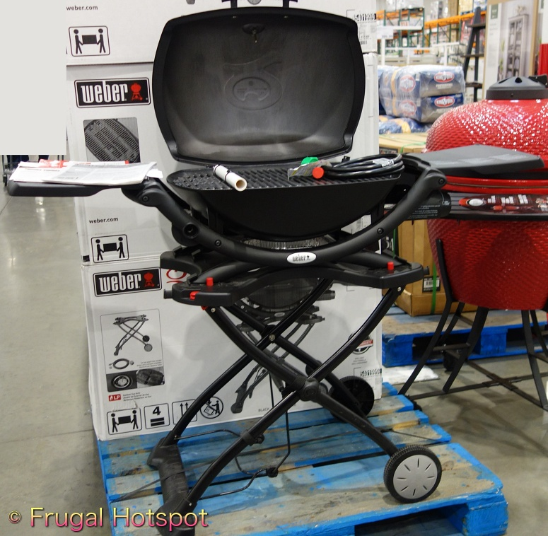 Weber Q2200 Outdoor Gas Grill   Costco Display