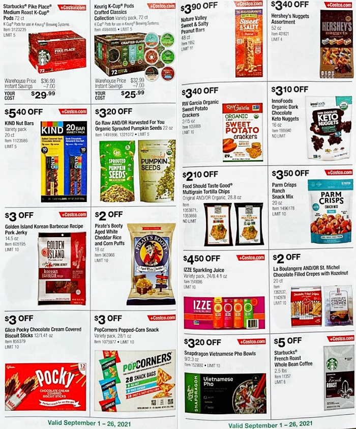 Costco Coupon Book SEPTEMBER 2021 Page 10