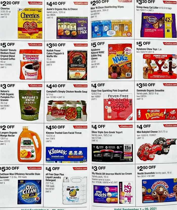 Costco Coupon Book SEPTEMBER 2021 Page 11