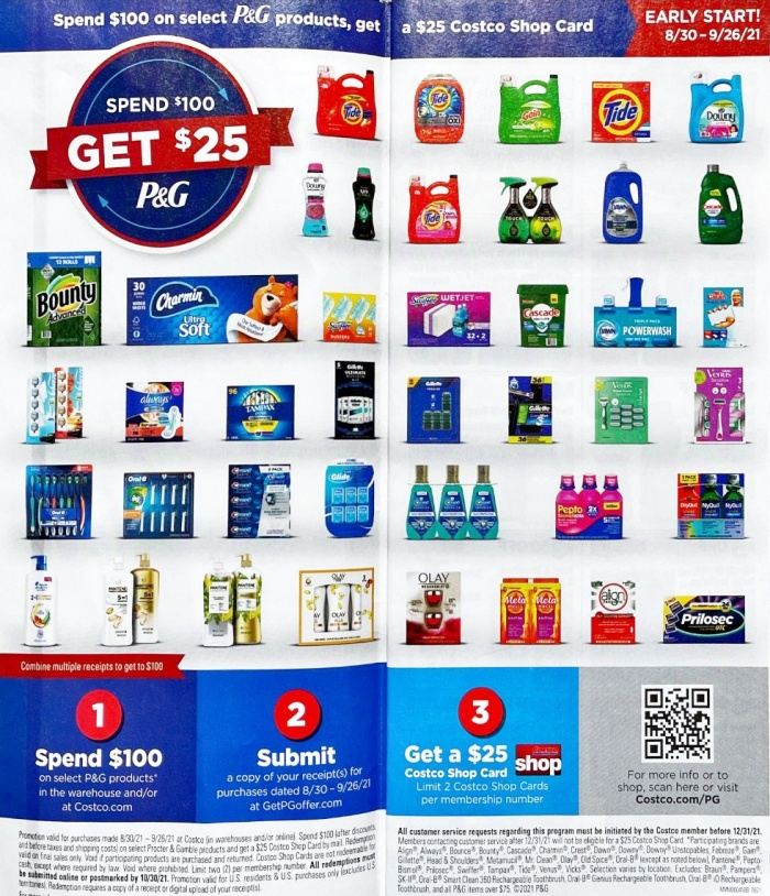Costco Coupon Book SEPTEMBER 2021 Page 2