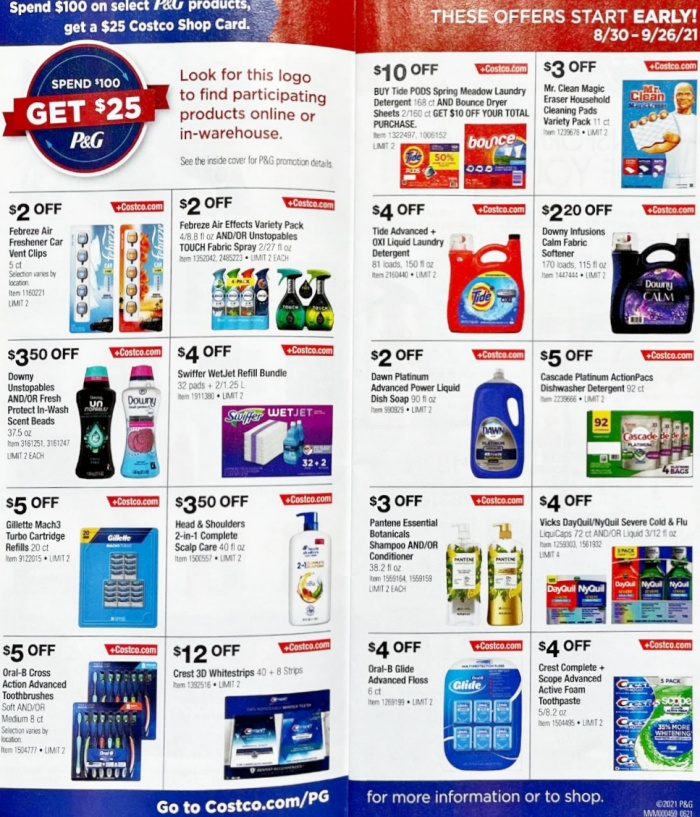 Costco Coupon Book SEPTEMBER 2021 Page 3