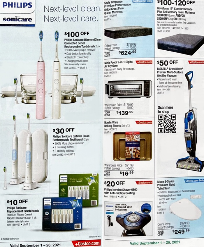 Costco Coupon Book SEPTEMBER 2021 Page 9 a