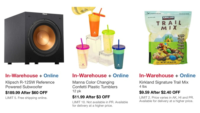 Costco In Warehouse Hot Buys Sale AUGUST 2021 P3