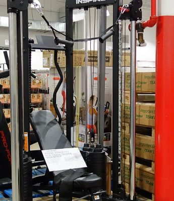 Inspire Fitness FTX Functional Trainer with Bench   Costco Display