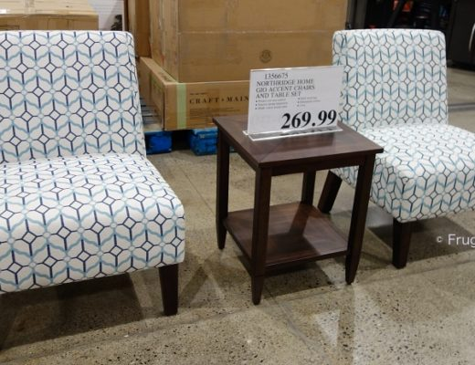 Northridge Home Gio Accent Chairs and Table Set | Costco Display