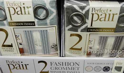 Perfect Pair Ezra Curtains | sage green blue and gray | Costco