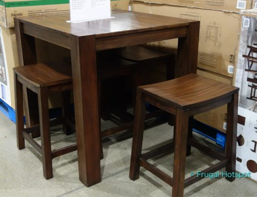 Pike and Main Benton 5-Piece Counter Height Dining Set | Costco Display