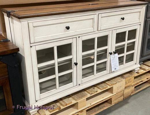 Pike and Main Dixon Accent Console   Costco Display