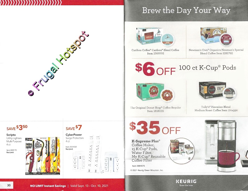 page 30-31 | Costco Business Center Coupon Book SEPTEMBER | OCTOBER 2021
