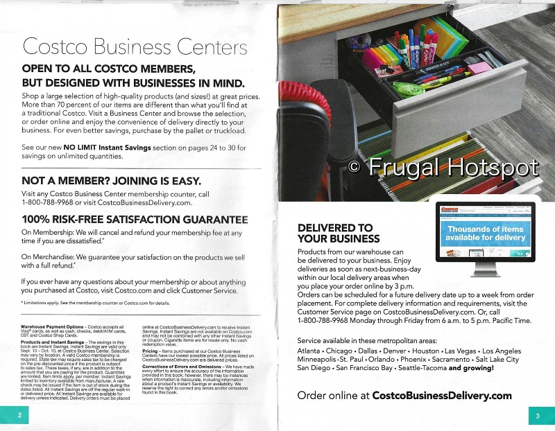 Costco Business Center Coupon Book SEPTEMBER : OCTOBER 2021 | Page 2-3