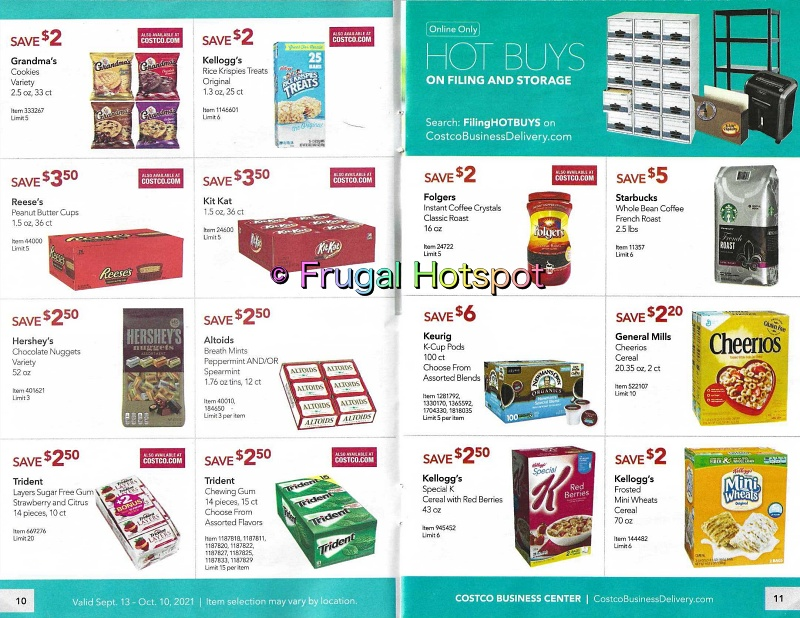Costco Business Center Coupon Book SEPTEMBER : OCTOBER 2021 | Pages 10-11