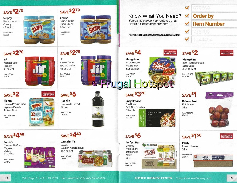 Costco Business Center Coupon Book SEPTEMBER : OCTOBER 2021 | Pages 12-13