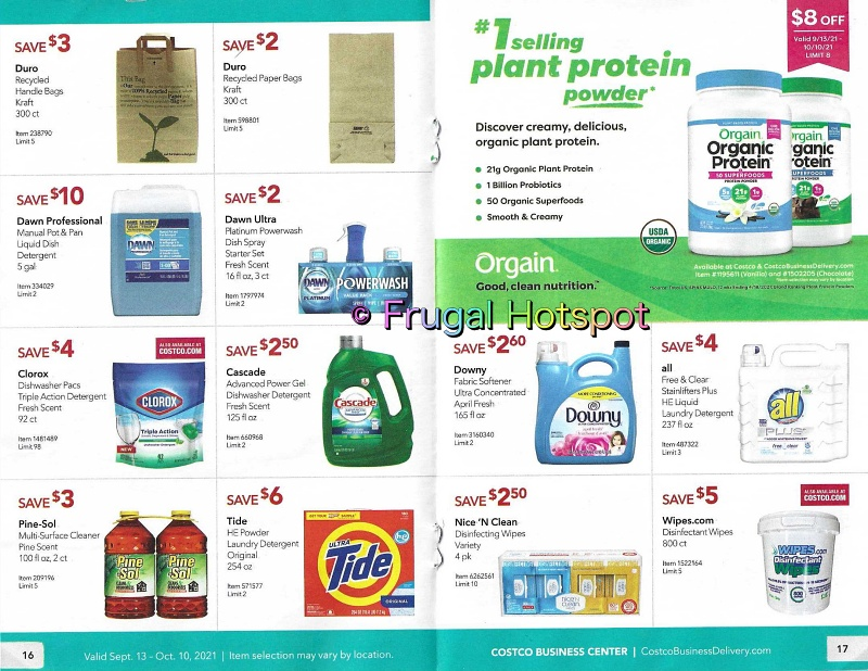 Costco Business Center Coupon Book SEPTEMBER : OCTOBER 2021 | Pages 16-17