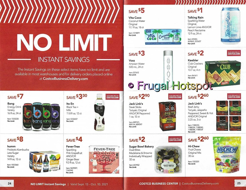 Costco Business Center Coupon Book SEPTEMBER : OCTOBER 2021 | Pages 24-25