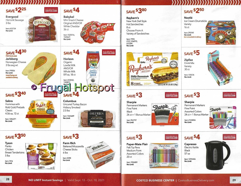 Costco Business Center Coupon Book SEPTEMBER : OCTOBER 2021 | Pages 28-29