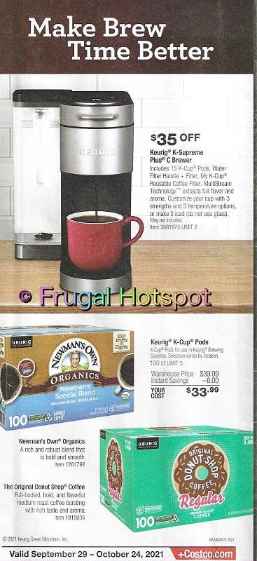 Costco Coupon Book OCTOBER 2021 (9 29 21 - 10 24 21) | Page 1