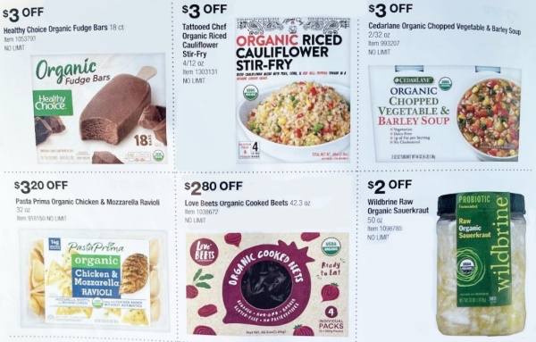 Costco ORGANIC Coupon Book SEPTEMBER 2021 Page 4 A