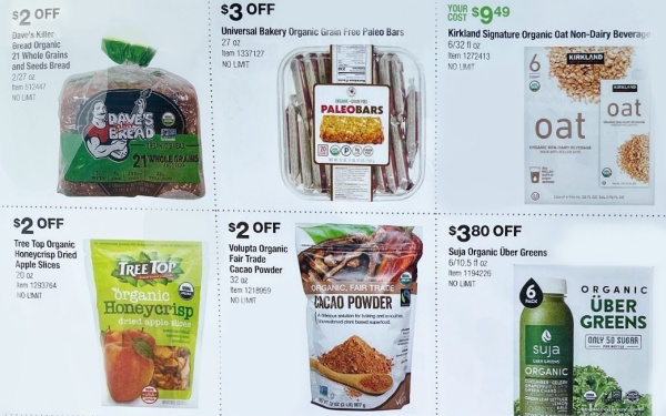 Costco ORGANIC Coupon Book SEPTEMBER 2021 Page 3 A