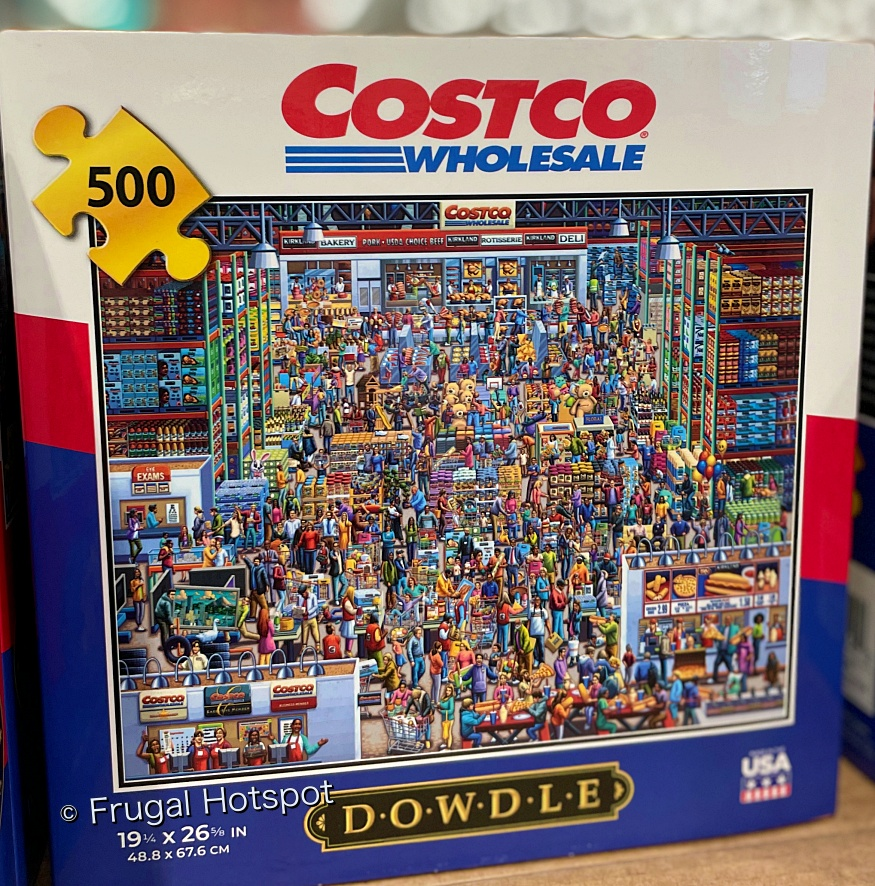 Costco Themed Jigsaw Puzzle by Dowdle | 500 pc