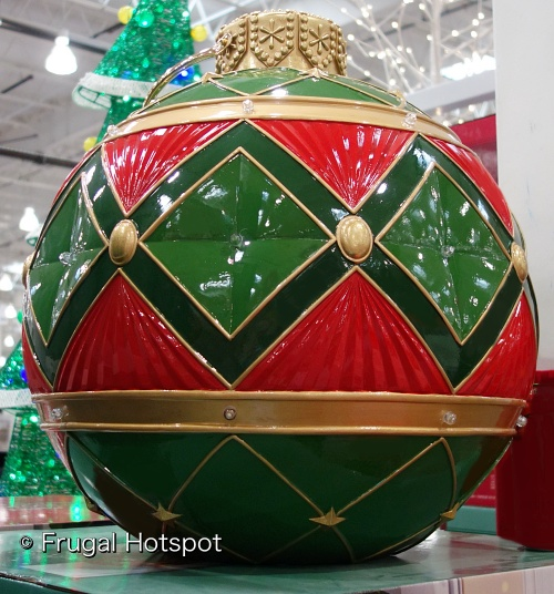 Oversized Ornament with LED Lights | Costco
