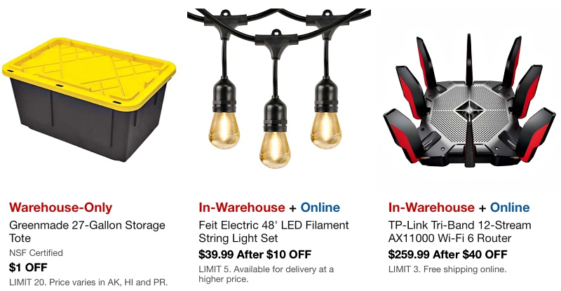 Costco In-Warehouse Hot Buys Sale - OCTOBER 2021   Page 5