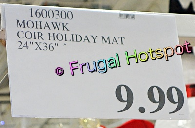Mohawk Home Holiday Collection Decorative Doormat   Costco Price
